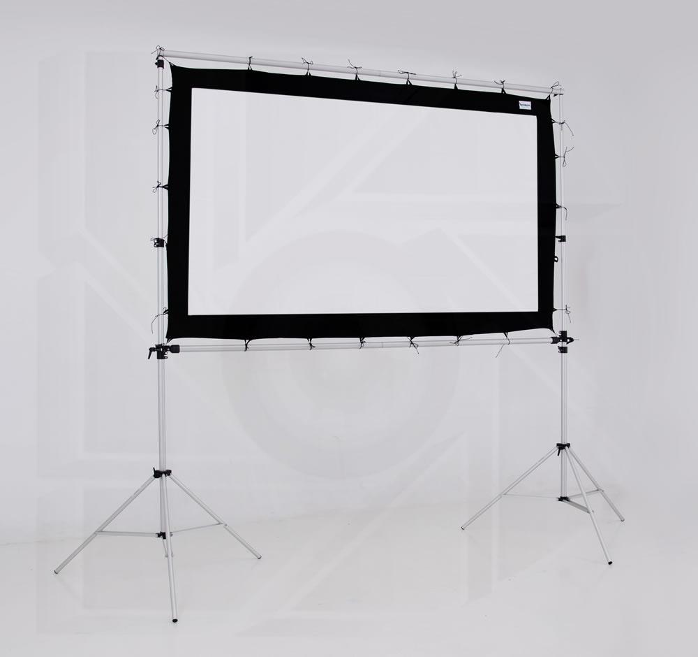 Pantalla Proyector Gigante Tela Front-back 106 Pulg 16:9 - $ 1.950 ...