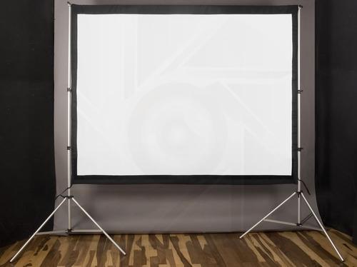 pantalla proyector gigante tela front-back 150 pulg 4:3