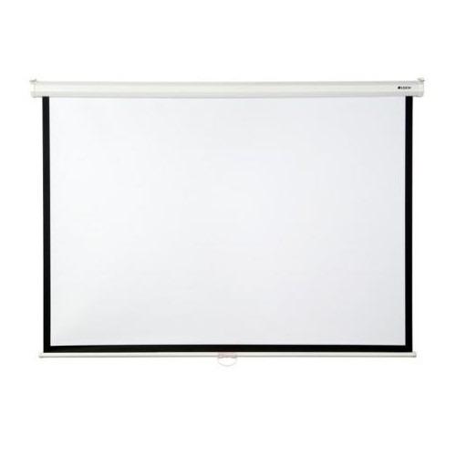 pantalla proyector loch 100 sr pulgadas 4:3 auto retráctil
