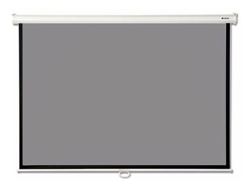 pantalla proyector loch 92 pulgadas 16:9 gris alto contraste