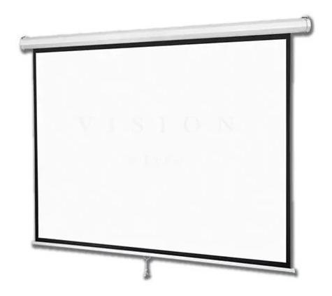 pantalla proyector manual 84 pulgadas 4:3 e-lighting mss-1