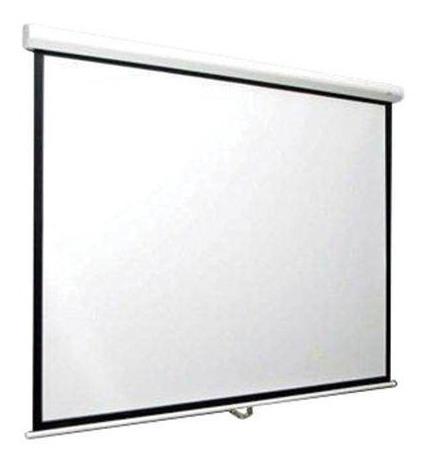 pantalla proyector manual loch 84 pulgadas retractil
