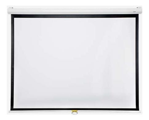 pantalla proyector manual vidium cbm107ws ideal cine hd 16:9