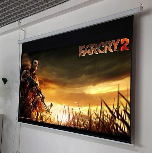 pantalla retractil 72 pulgadas para proyector electrico au