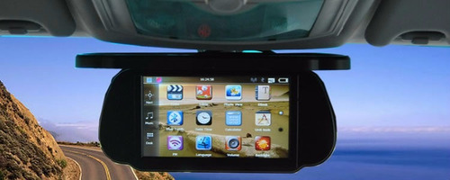 pantalla retrovisor bluetooh con lector usb sd mp5 full hd