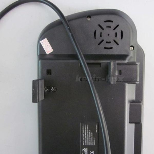 pantalla retrovisor de 7  para camara de reversa impormel