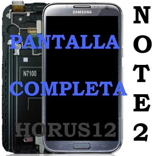 pantalla samsung galaxy note 2 n7100 i317 display touch lcd