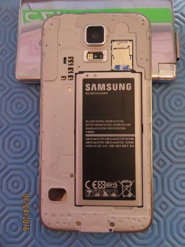 pantalla samsung galaxy s5 g900 completa ,para repuesto,