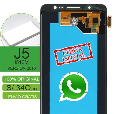 pantalla samsung  j5 2016 original envíos gratuitos garantía