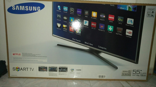 pantalla samsung smart tv 55  nueva