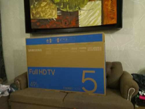 pantalla samsung smart tv full hd de 49  5 series seminueva