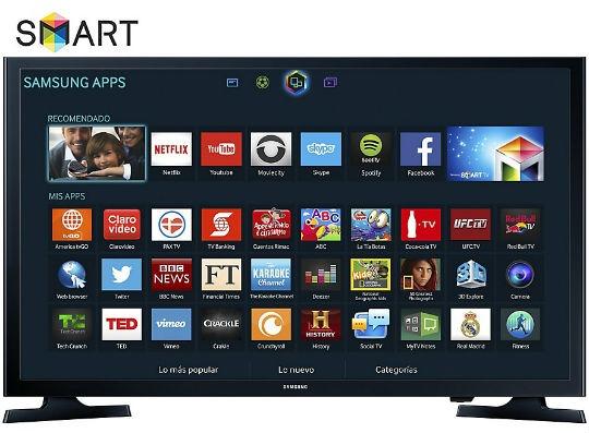 48648531747 Pantalla Samsung Un-32j4300 Led Smart Tv Hd De 32 Pulgadas ...