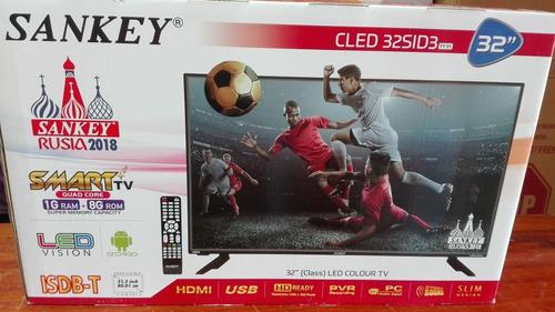 pantalla sankey® smart 32-pul  (cled32sid3) nueva en caja