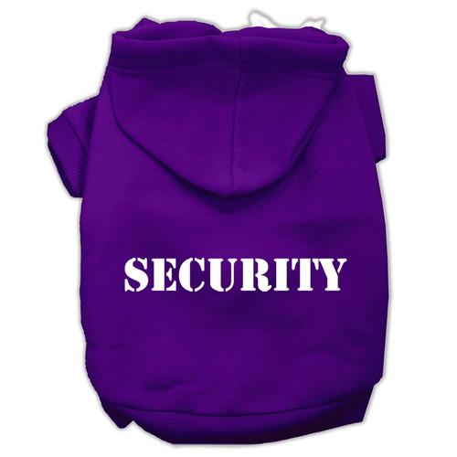 pantalla seguridad impresión sudaderas con capucha tamaño