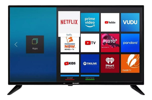 pantalla sharp 32 television hd smart tv hdmi lc-32q5200u