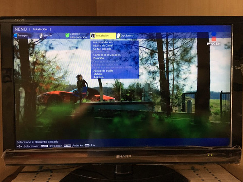 pantalla sharp aquos 40  lcd (precio negociable)