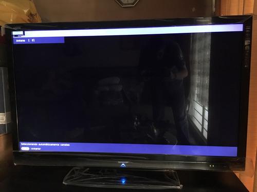 pantalla sharp aquos led 52