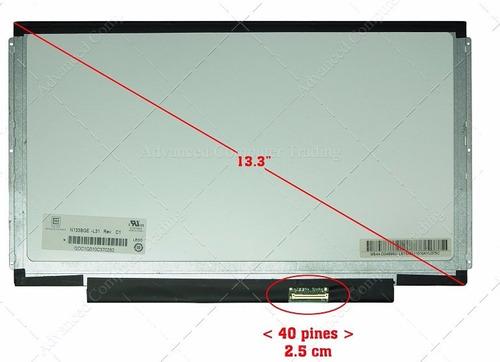 pantalla slim led 13.3 40 pines