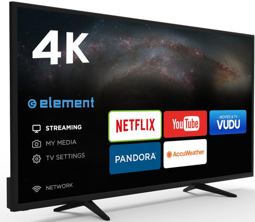 pantalla smart element 55 pulgadas 4k ultra hd led e4sw5518