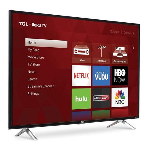 pantalla smart tv 43 tcl roku led 3 hdmi 1080p 120hz fhd