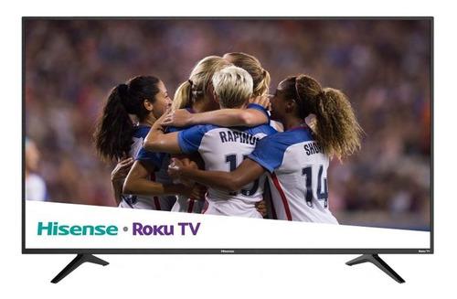 pantalla smart tv 4k 55 pulg led hd roku 55r6e hisense