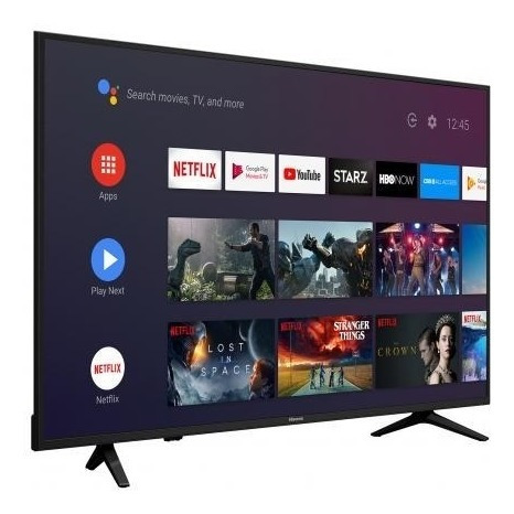 pantalla smart tv 4k hisense 58 android 120hz linea 2019