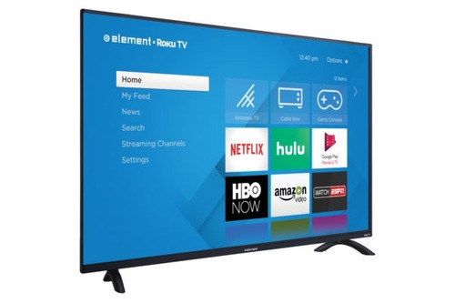 pantalla smart tv 4k roku tv element 50 pulgadas e4sw5017rku