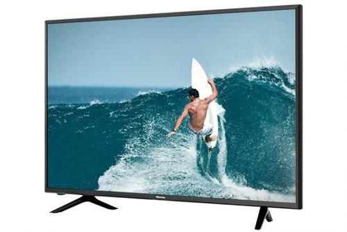 pantalla smart tv 55 hisense 4k uhd 55h6d  hdmi usb hdr