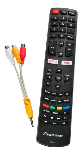 pantalla smart tv 55 pioneer 4k ple-55s06uhd wifi hdmi nueva