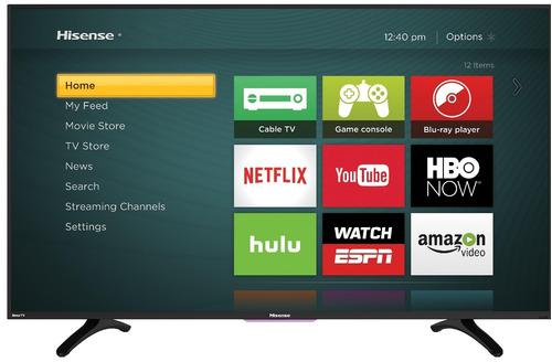 pantalla smart tv hisense 32 led hd usb 32h5d 12 meses si x