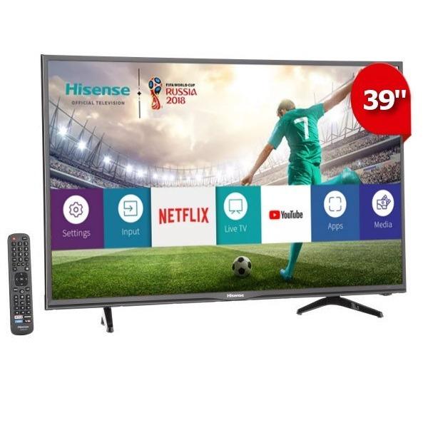 22050c1108cc4 Pantalla Smart Tv Hisense 39 Pulgadas Full Hd Netflix 39h5d ...