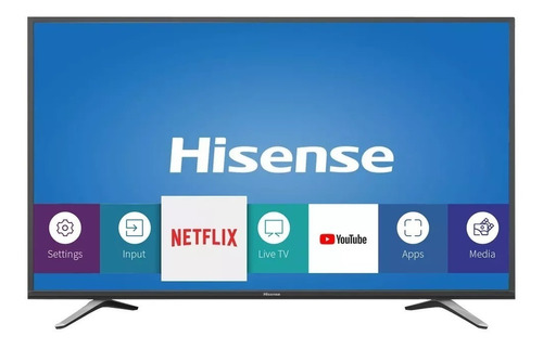 pantalla smart tv hisense 49h6e 49 pulgadas 4k