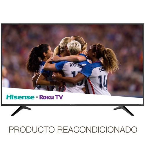 pantalla smart tv hisense 50'' 4k roku uhd hdr wifi 50r6e