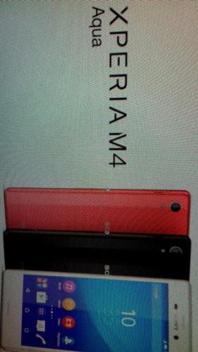 pantalla sony m4 aqua original tienda garantia