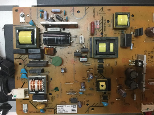 pantalla sony refaccion kdl-32ex340 módulo tira leds