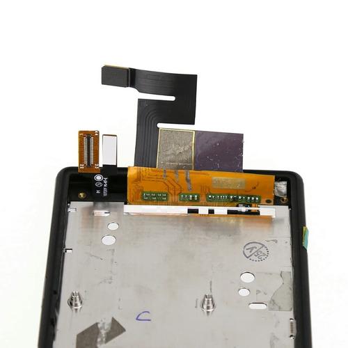 pantalla sony xperia m2 con marco