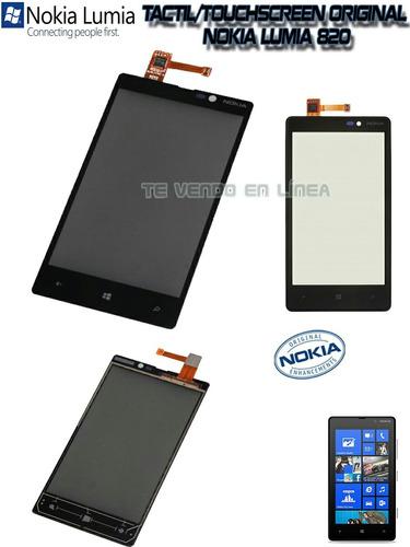 pantalla táctil nokia lumia 820
