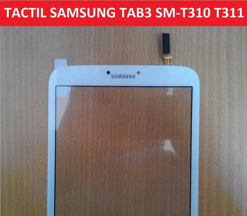 pantalla táctil touch samsung galaxy tab3 8.0 sm t311