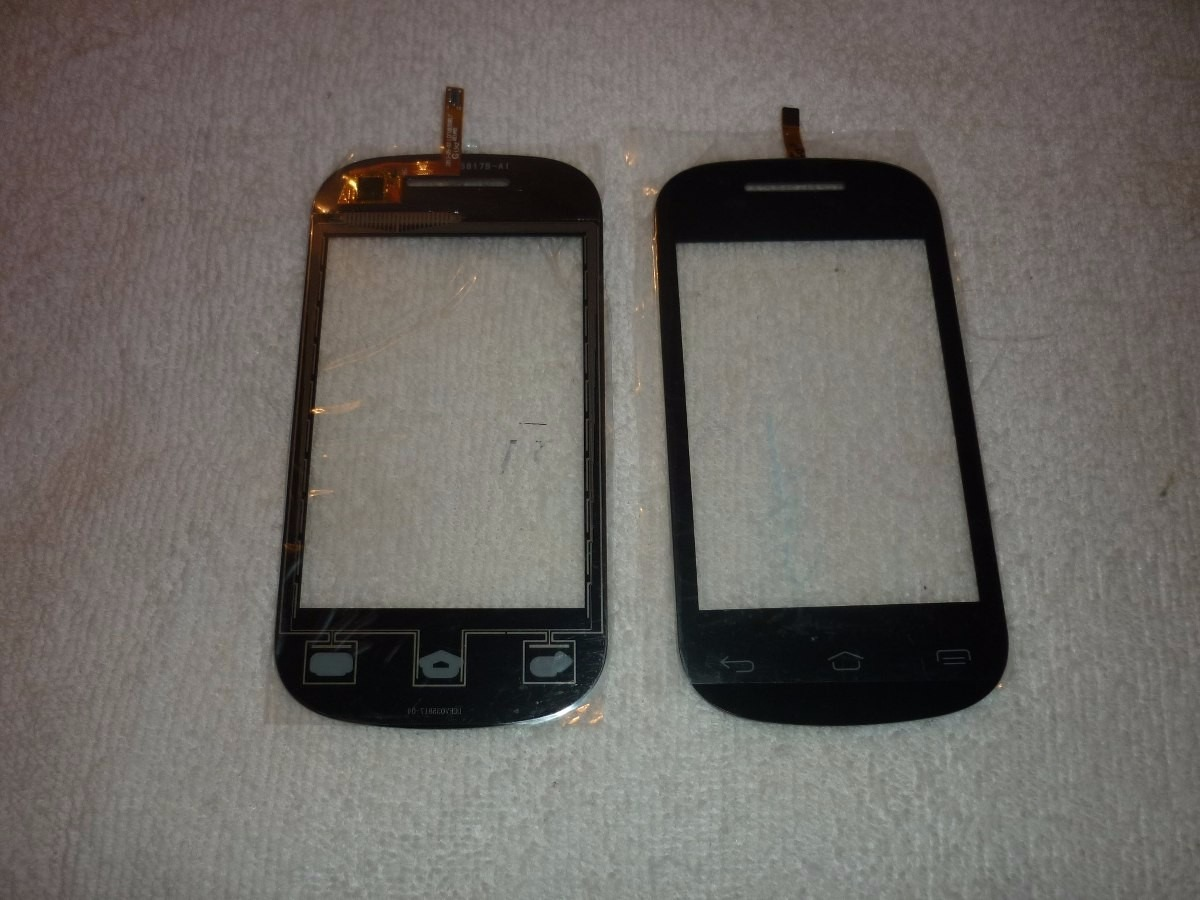 zte v795 touch screen also accept all