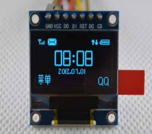 pantalla tecnología oled 0.96  serial lcd para arduino