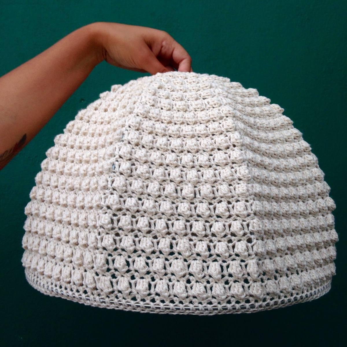 Pantalla Tejida Al Crochet - $ 1.700,00 en Mercado Libre