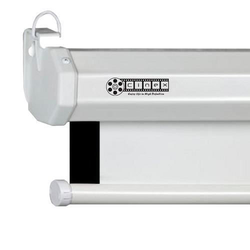 pantalla telón de proyección pared manual 155x155cm epson