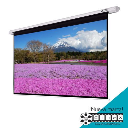 pantalla telón de proyección pared manual 300x170 epson