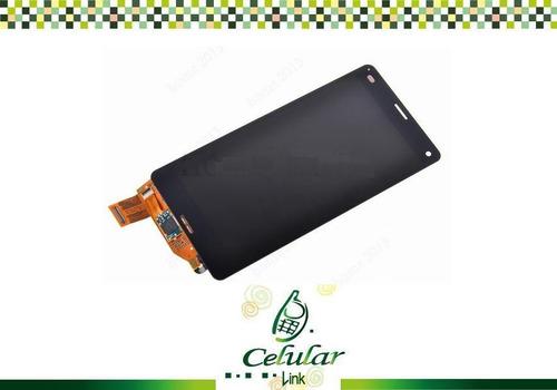 pantalla touch display cristal xperia z3 compact mini d5803