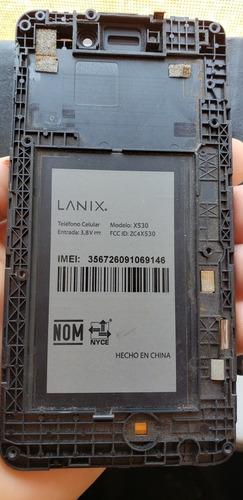 pantalla touch lanix x530