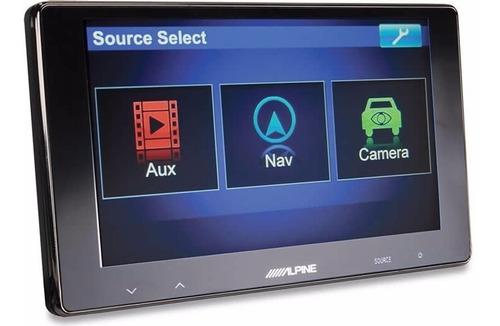 pantalla touch screen alpine modelo tme-s370 - 6.5
