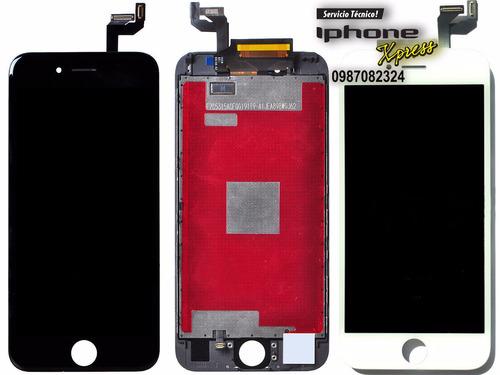 pantalla, touch screnn, táctil,iphone 6s plus blanco y negro