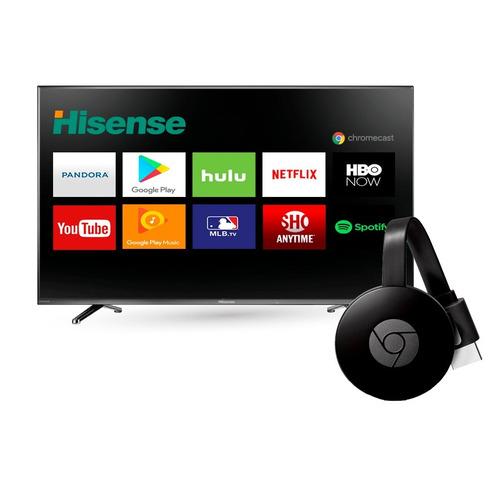 pantalla tv hisense 40 full hd  hdmi + chromecast smart