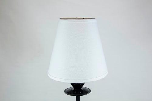 pantalla, velador, lampara de 8 x 14.
