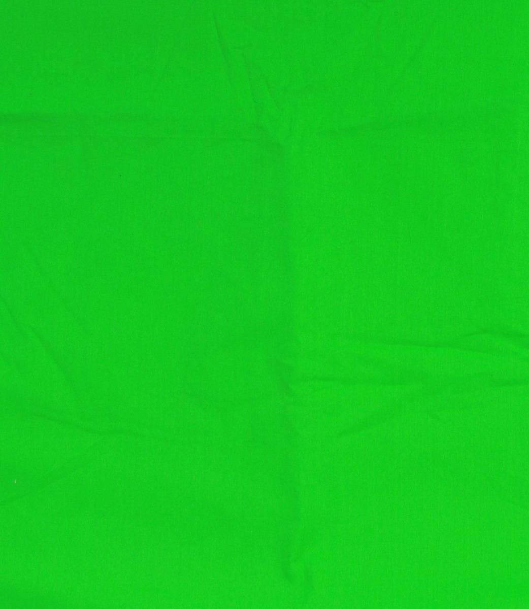 Pantalla Verde Original Chroma Key Greenscreen 1.84 X 1.84